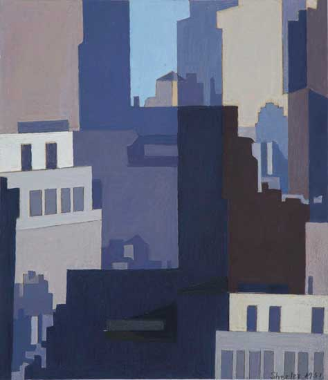 Sheeler - Canyons