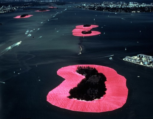 Sorrounded islands - Christo and Jeanne-Claude
