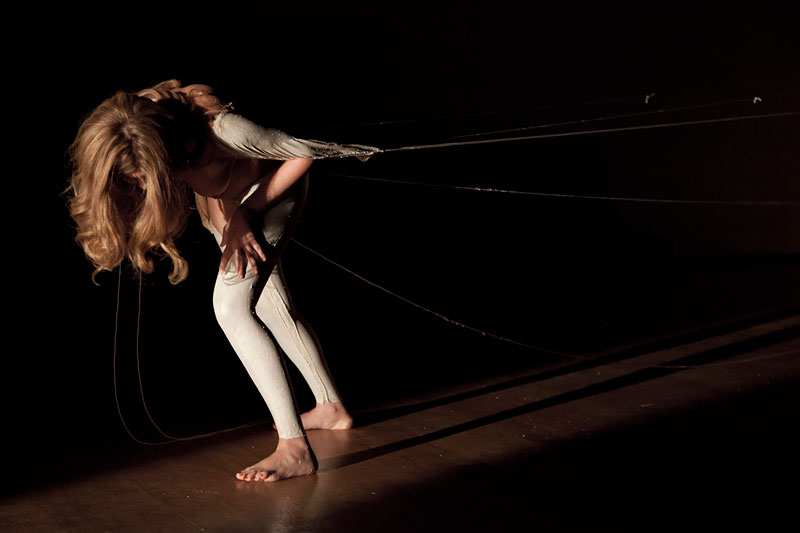 """La Robe"" -  2012  - live from performance  ph: Amedeo Benestante"