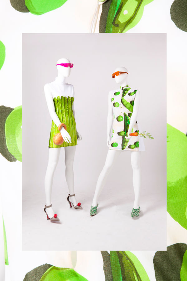 "Ken Scott - Collezione gastronomica Primavera/Estate 1970  ""Ken Scott cooks something new..."" Mini dress - Fondazione Ken Scott"