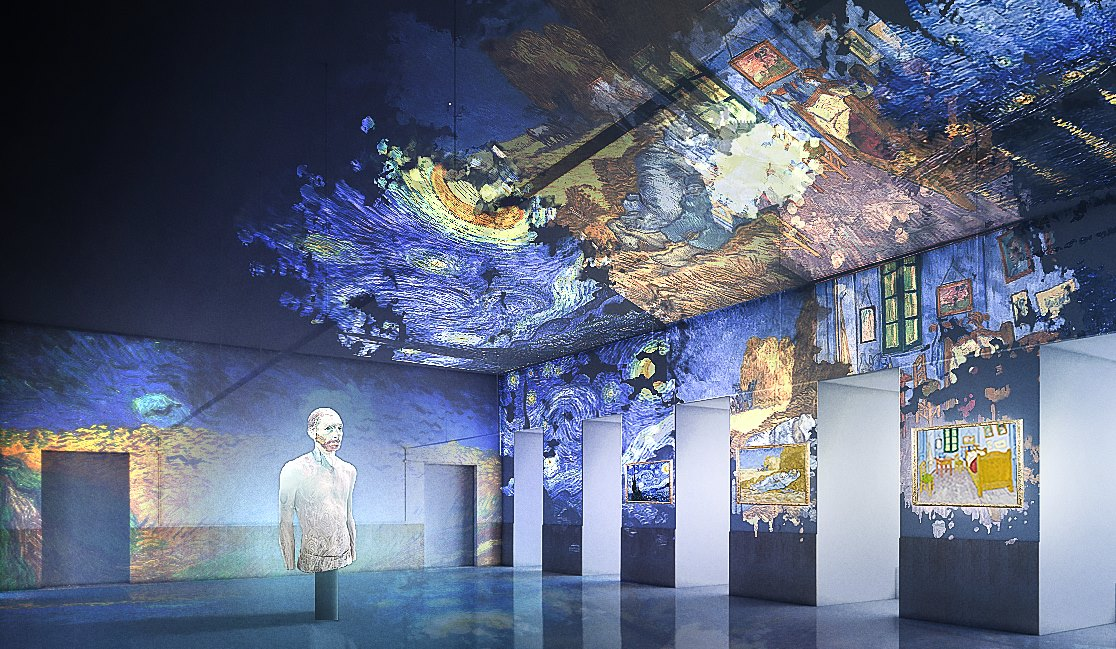 Van Gogh, the immersive experience