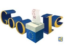 Doodle Google - Elezioni europee