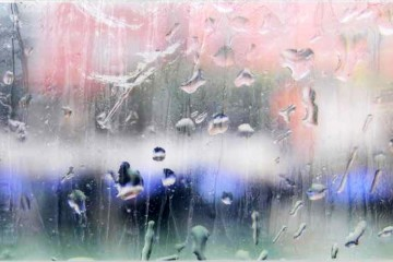 Like a seagull 2014 – Stampa fotografica su alluminio, (Ancona), silicone, cm 90 x cm 50. Foto dell'opera di Michele Alberto Sereni