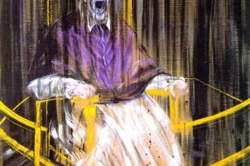 Francis Bacon - Studio dal ritratto di Innocenzo X di Velázquez