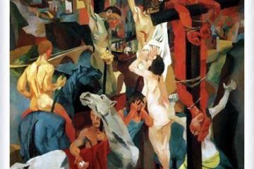Renato Guttuso - Crocifissione (1941)