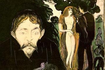 Edward Munch - Gelosia (1907)
