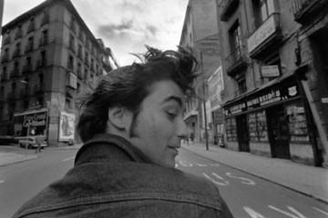 Alberto Garcia-Alix – Autoretrato en moto
