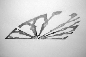 Corpo d'ombra - Rosy Rox, from serie 'ombre di memoria',