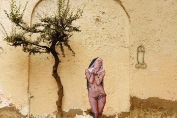 "Street Art a Napoli - Zilda ""Rinunciazione"""