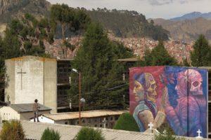 Murales Las Paz - KIKI e AGUS RUCULA